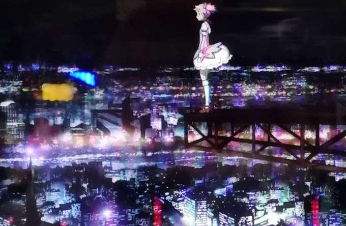 魔法少女まどか☆マギカ夜の見滝原市