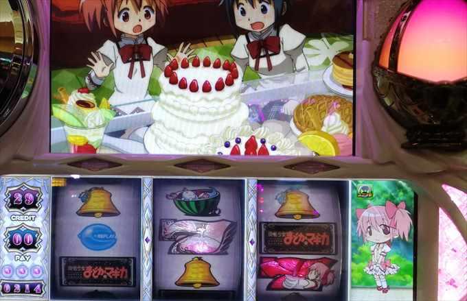 まどか☆マギカケーキ大