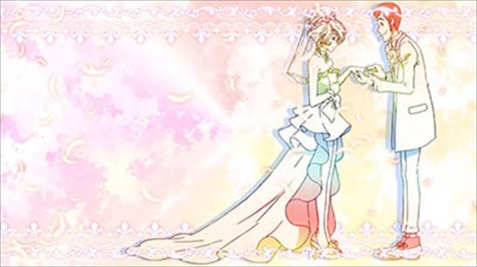 世界解剖結婚式背景